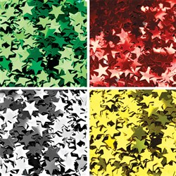 Glitter Star Sequins - Set of 4 Colours