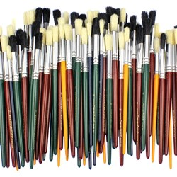 CleverPatch Round Paint Brushes - Assorted
