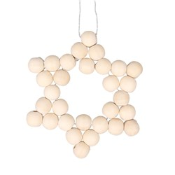 Natural Star Bead Ornament CleverKit