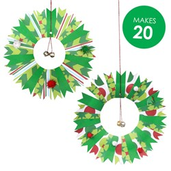 Paper Plate Wreaths Group Pack