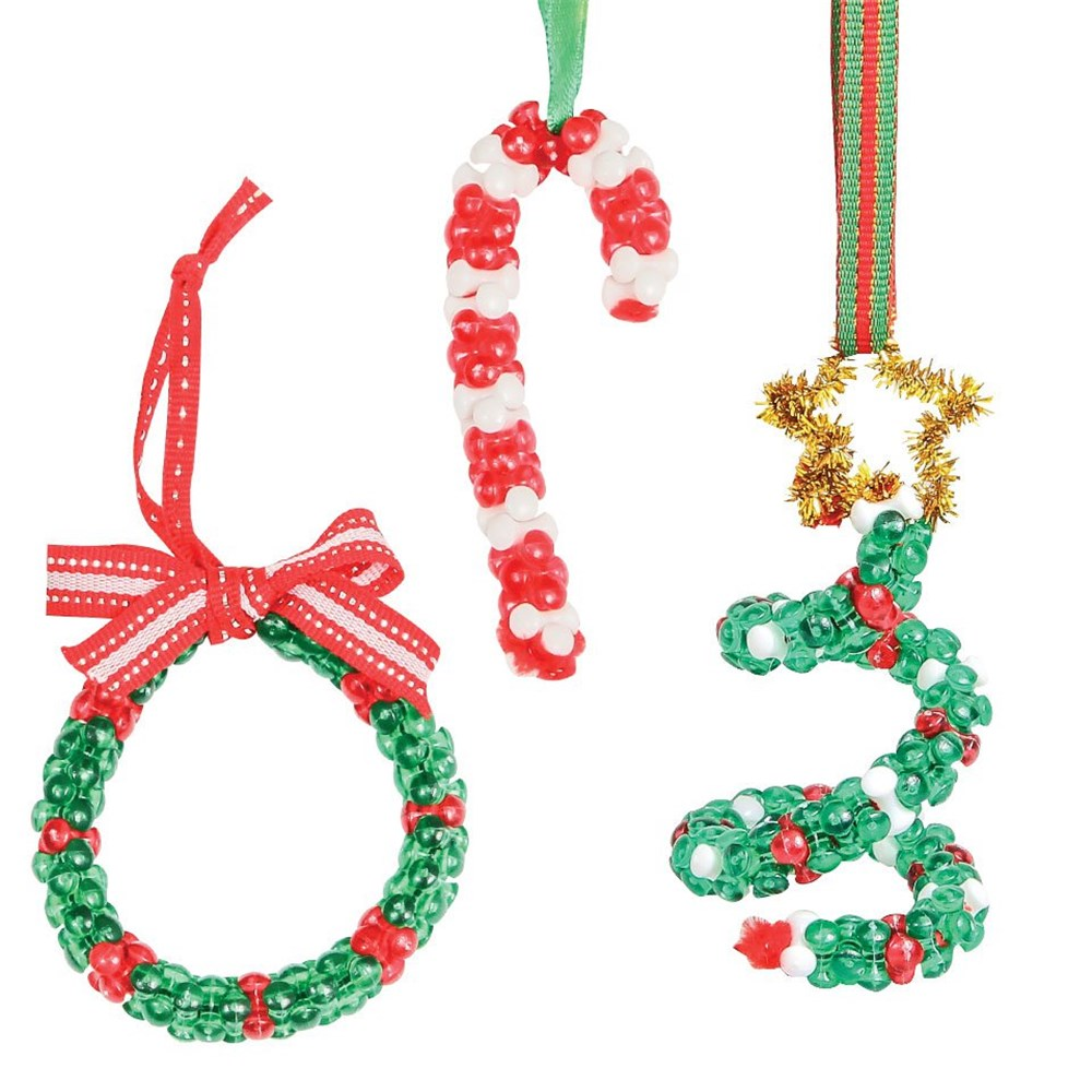 Christmas Tri Bead Ornaments | Christmas | CleverPatch ...