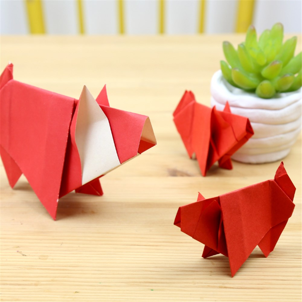 Origami Pig | Chinese New Year - CleverPatch | CleverPatch ...