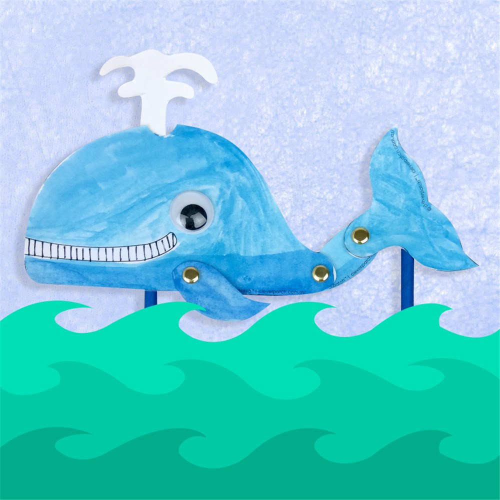 How to Make a 3D Paper Dolphin - Look! We're Learning!   1000x1000