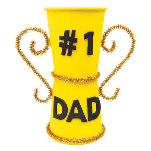 1 Dad Trophy Paper Amp Card Cleverpatch Art Amp Craft