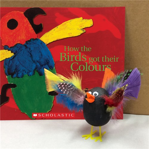 """How the Birds Got Their Colours"" Decofoam Bird"