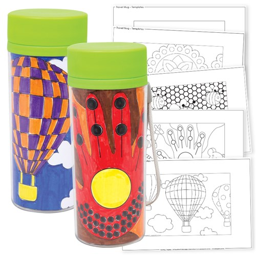 Travel Mug Templates
