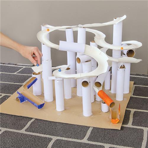 Bead Run Roller Coaster Paper Amp Card Cleverpatch Art