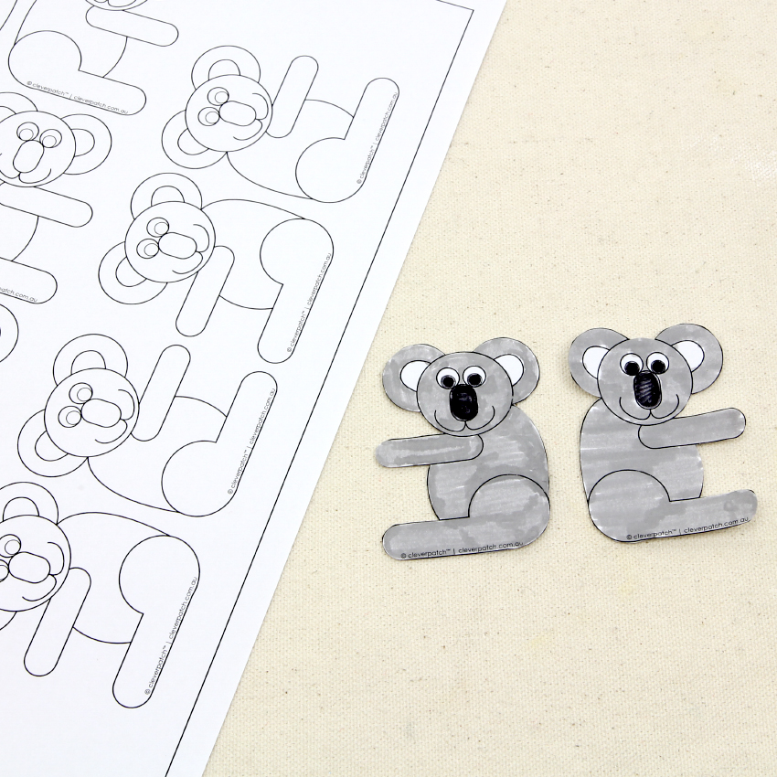 Toilet Paper Roll Koala Craft for Kids - Red Ted Art - Make ... | 850x850