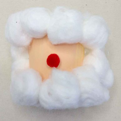 Santa Craft: Snack Holder & Candy Dish - | 387x387