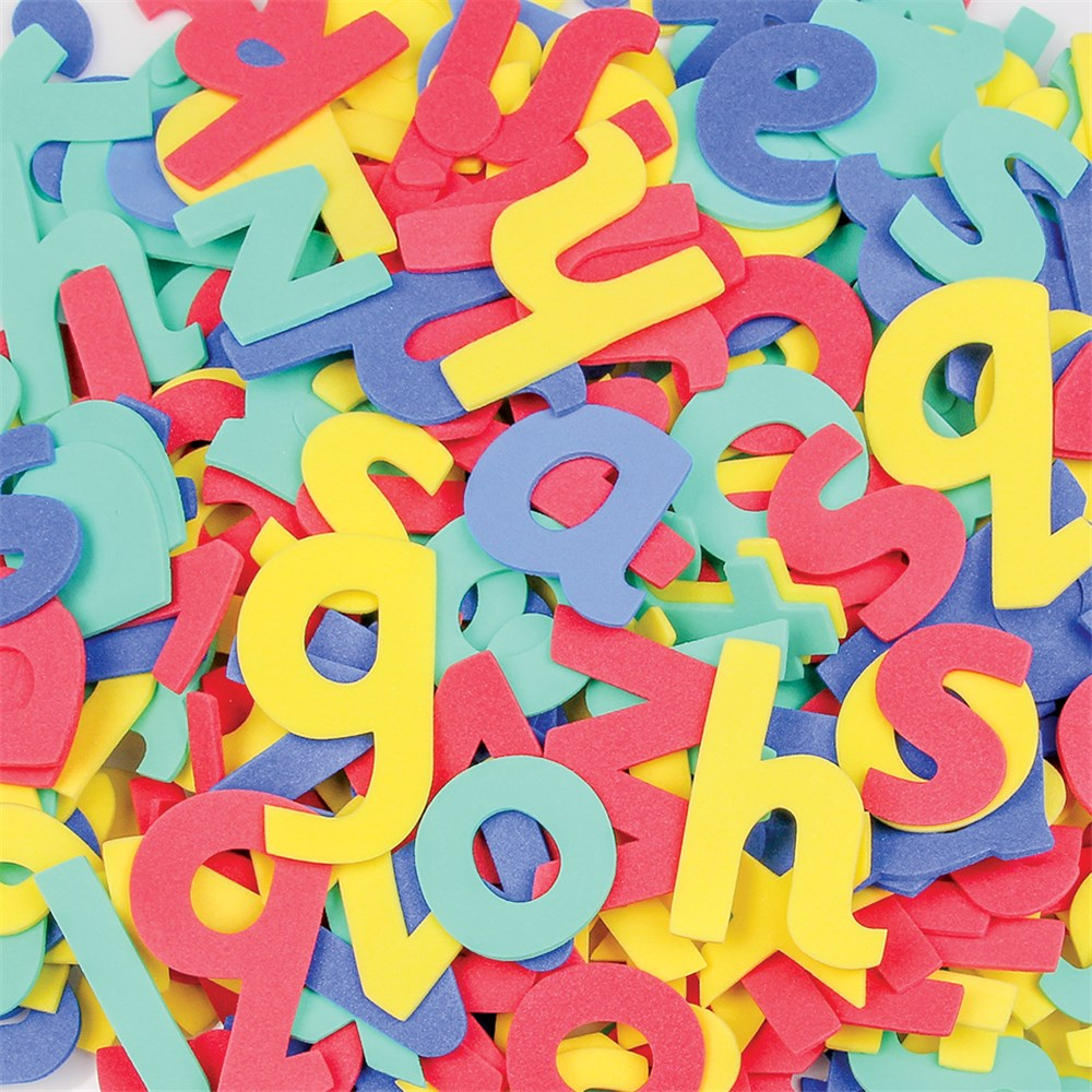 Foam Alphabet Lowercase Pack Of 300 Foam