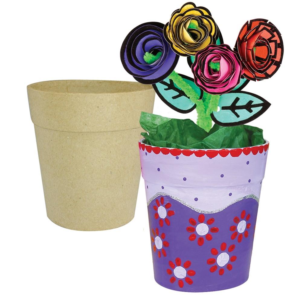Papier Mache Flowerpot Papier Mache Cleverpatch Art Craft