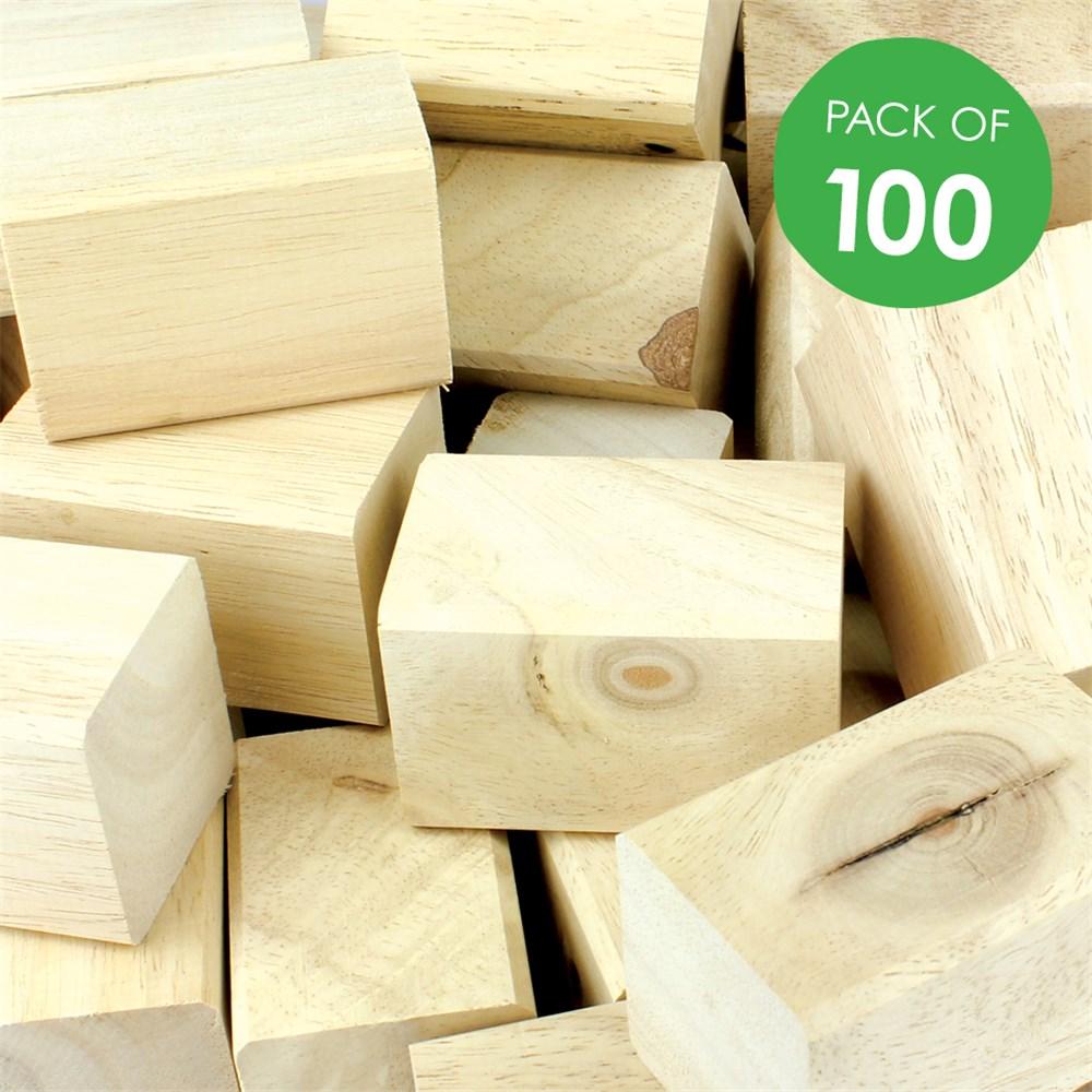 Wooden Blocks Craft Supplies Australia