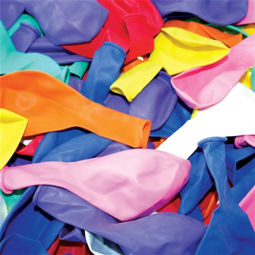 Balloons - Coloured - Pack of 100