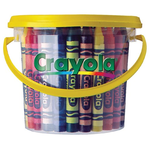 Crayola Large Crayons Deskpack - Pack of 48