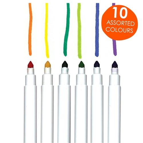 Crayola Washable Supertips Markers Deskpack Pack Of 40
