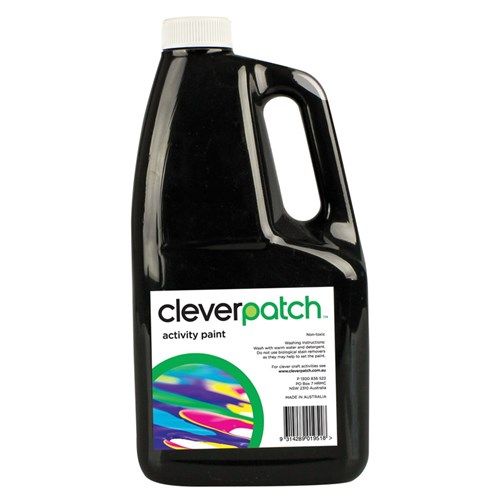 CleverPatch Activity Paint - Black - 2 Litres