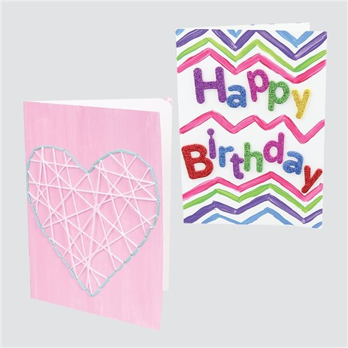 Cardboard Greeting Cards - White - Pack of 20
