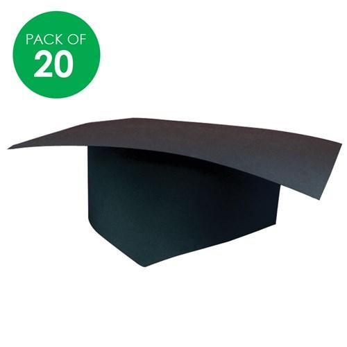 cardboard graduation hat pack of 20 paper activities