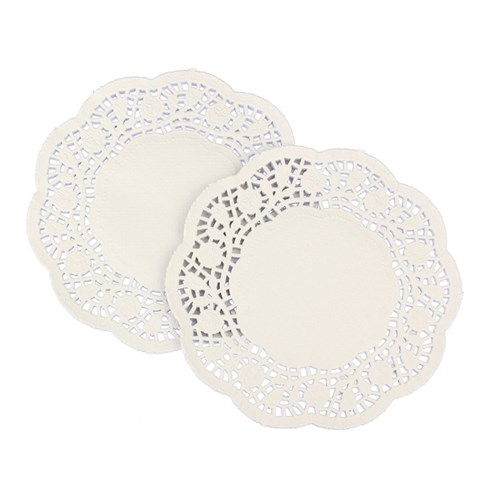 Doilies - White - Pack of 250