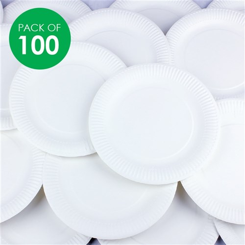 Paper Plates - Large - Pack of 100