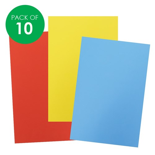 Foam Sheets - Large - Pack of 10