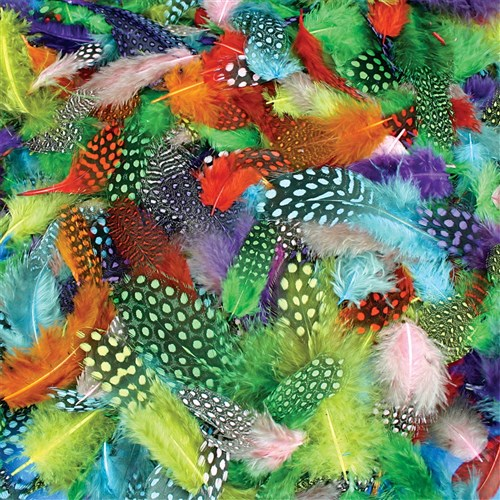 Feathers - Spotted - 25g Pack