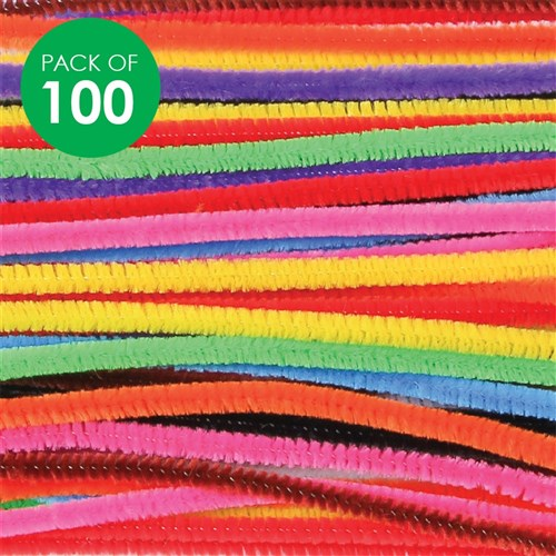 Chenille Stems - Bright