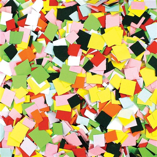 Coloured Paper Pieces Pack Of 10 000 General Collage
