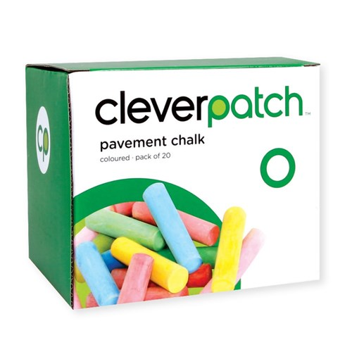 CleverPatch Pavement Chalk - Coloured