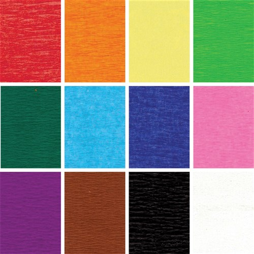 Crepe Streamers - Assorted