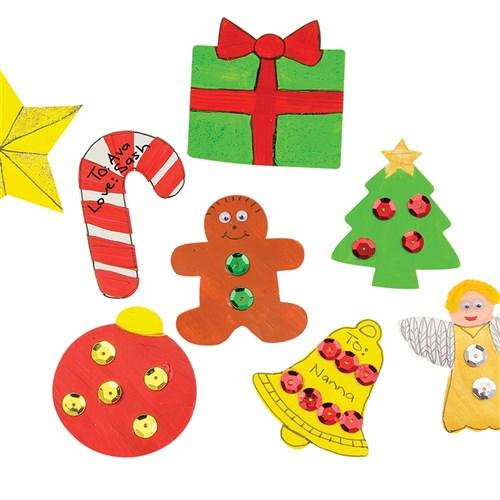 Cardboard Christmas Cutouts Bumper Pack