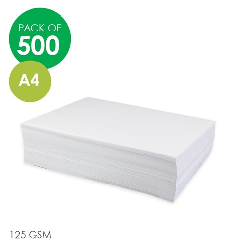 Rainbow Cover Paper - White - A4 - Pack of 500