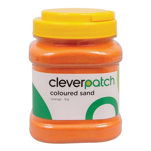 CleverPatch Coloured Sand - Orange