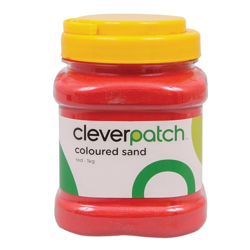 CleverPatch Coloured Sand - Red