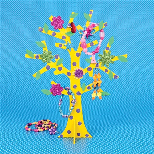 3D Wooden Trees - Pack of 10