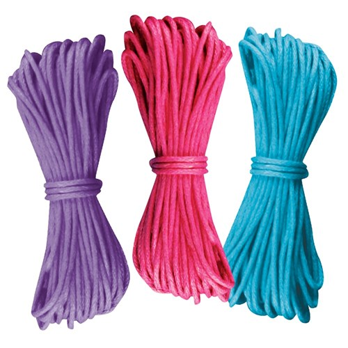 Waxed Thread - Bright - Pack of 3