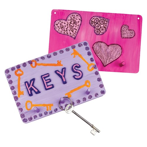 Wooden Key Holders - Pack of 10
