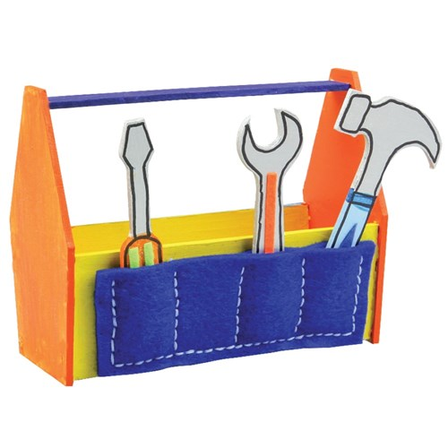 Wooden Tool Boxes - Pack of 10
