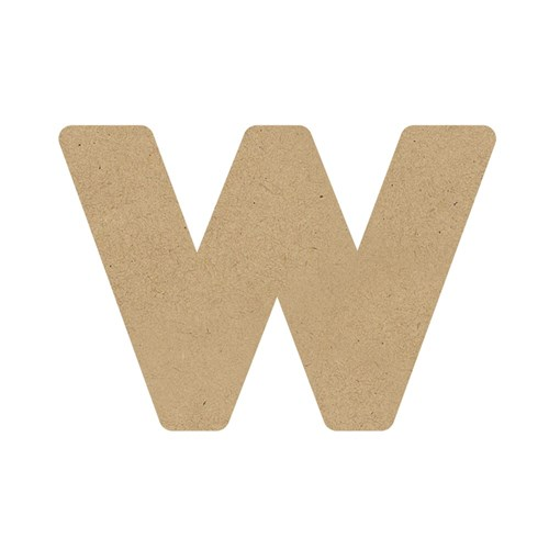 3D Wooden Letter - Lowercase