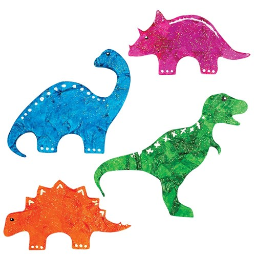 Wooden Dinosaur Shapes - Pack of 20