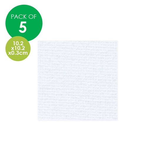 Mini Canvas Panel Art Boards - Pack of 5