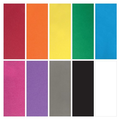 CleverPatch Cardboard - Assorted Colours - A4