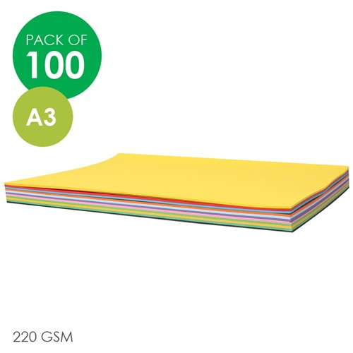 CleverPatch Cardboard - Assorted Colours - A3