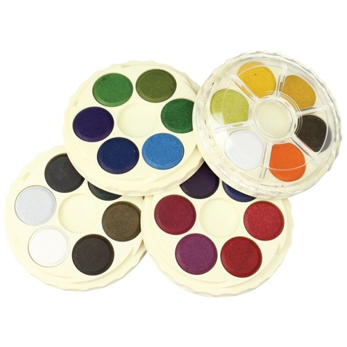 Koh-I-Noor Watercolour Discs - Brilliant