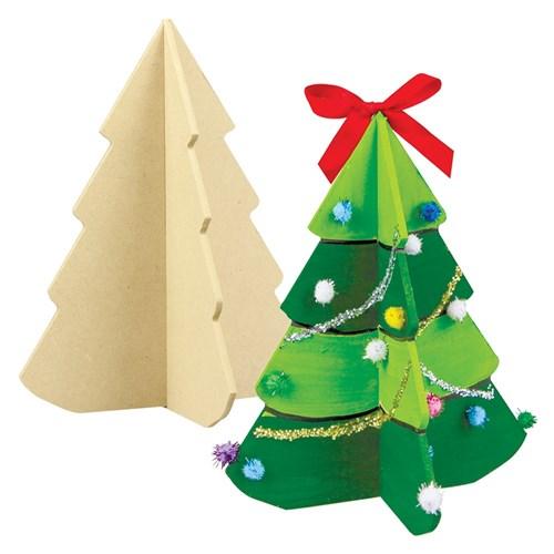 Wooden Christmas Trees.3d Wooden Christmas Trees