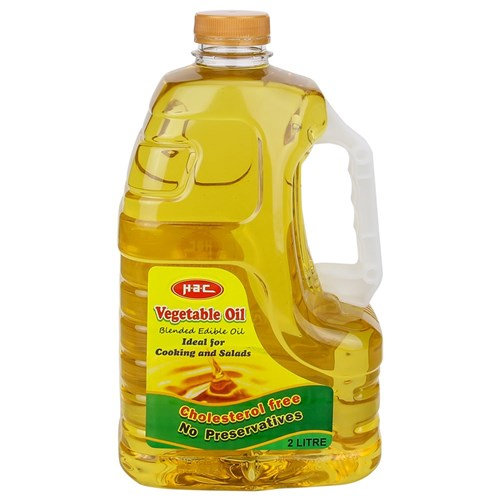 Vegetable Oil - 2 Litres