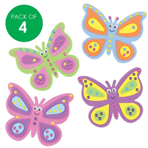 Butterfly Jewel Magnets CleverKit Multi Pack