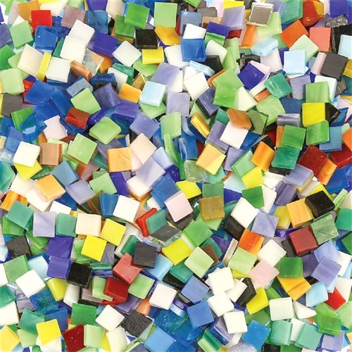 Glass Mosaic Tiles Small 1kg Pack Mosaics