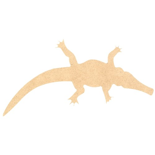 Indigenous Wooden Crocodile Shapes - Pack of 10