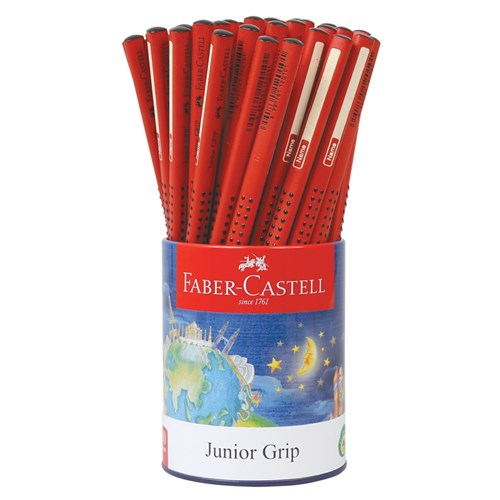 Faber-Castell Junior Grip 2B Pencils - Pack of 50